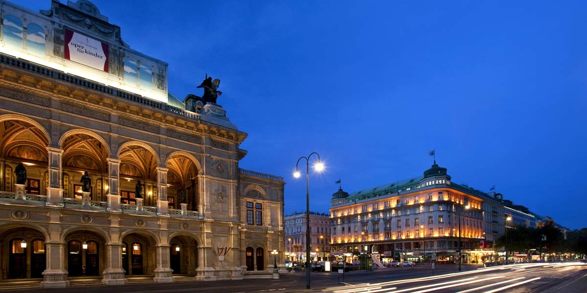 Luxury Hotel Vienna, Hotel Bristol, Prestigious Venues